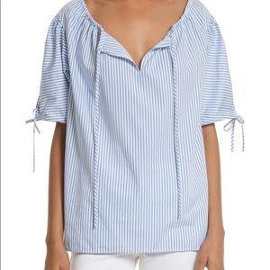 🎉Sale! Host Pick!🎉 TORY BURCH Ariana striped top